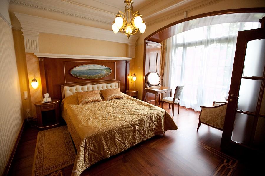 Апартаменты в корпусе №1 санатория Русь