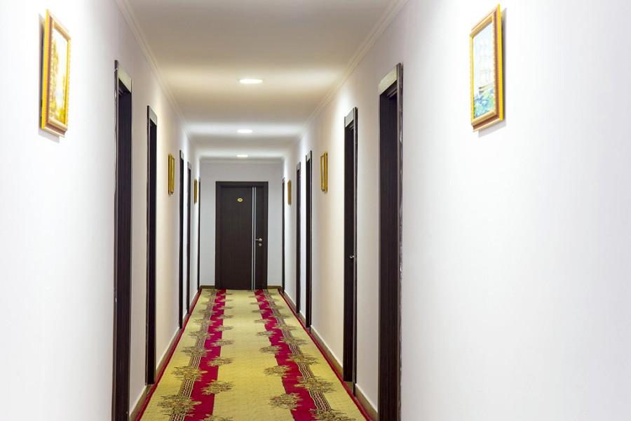 Коридор гостиницы Руслан