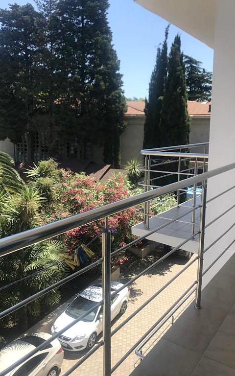 Вид с балкона гостиницы Руслан