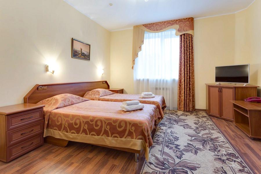 Стандарт двухместный отеля «Русское море»