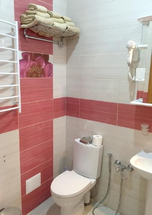 Туалетная комната Тематического номера в корпусе Восточный санатория Саки