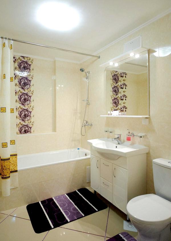 Туалетная комната в номере Люкс VIP санатория Сакрополь