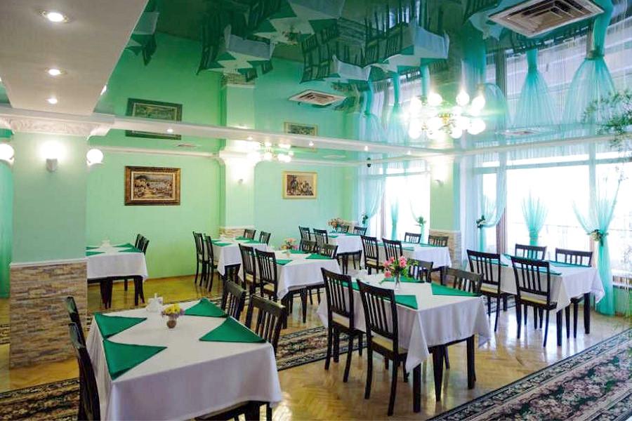 Обеденный зал санатория Сакрополь