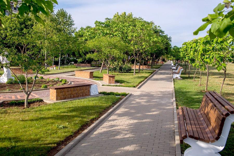 Территория санатория Сакрополь