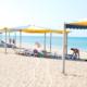 Пляж города Саки, Крым