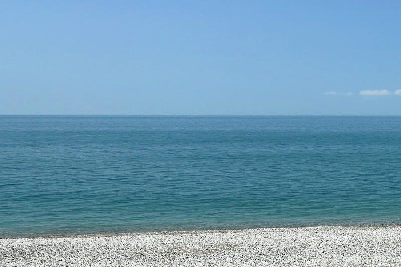 Пляж отеля Самшит, Очамчыра, Абхазия