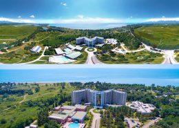 Территория пансионата Самшитовая роща, Пицунда, Абхазия