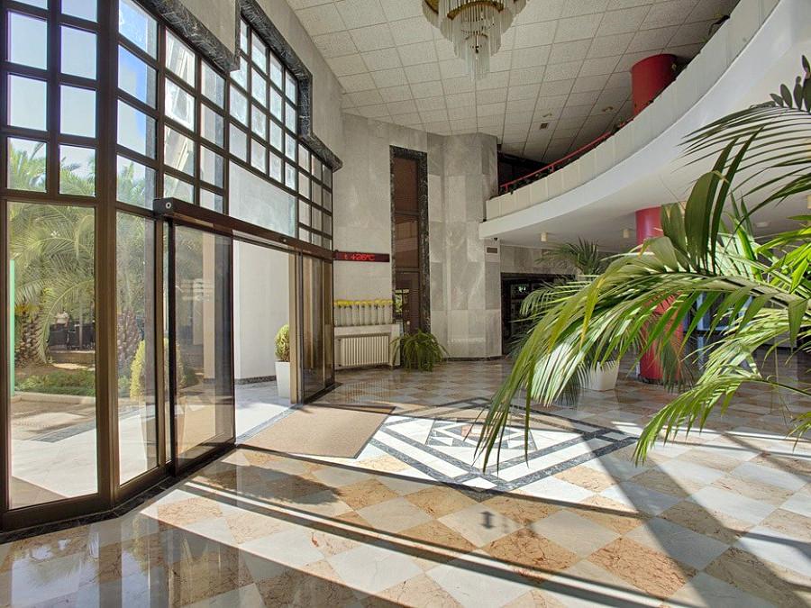 Холл пансионата Самшитовая роща