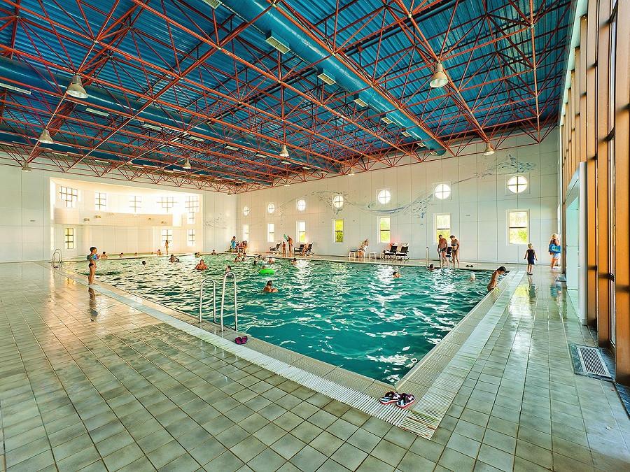 Крытый бассейн пансионата Самшитовая роща, Пицунда, Абхазия