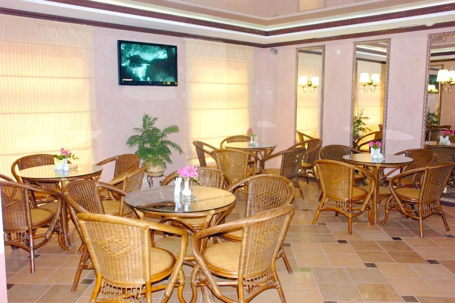 Кафе пансионата Сан-Марина
