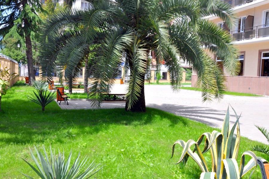 Территория пансионата Сан-Марина