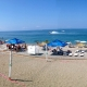 Пляж Гагры