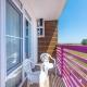 Балкон Стандартного Улучшенного номера отеля Sea Breeze Resort