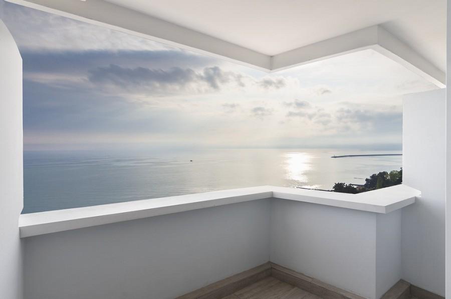 Вид с балкона номера Sea Galaxy Hotel Congress & Spa