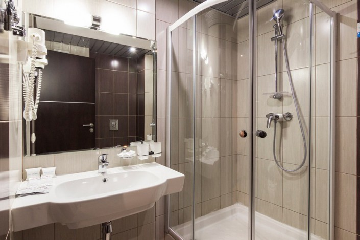 Туалетная комната в номере Sea Galaxy Hotel Congress & Spa