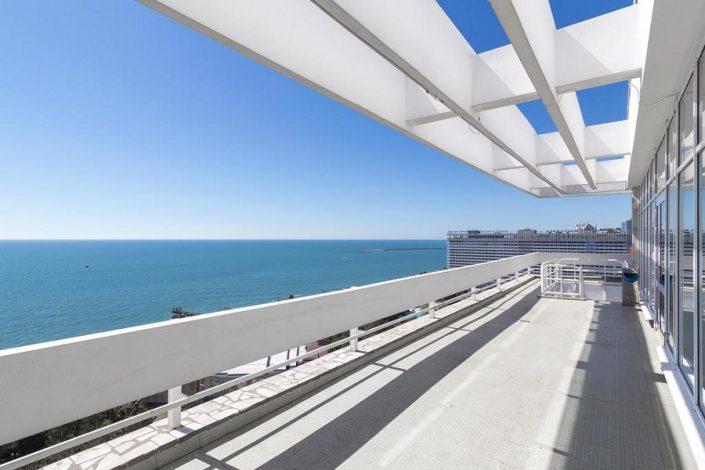 Вид с балкона Sea Galaxy Hotel Congress & Spa