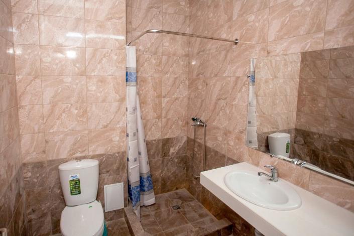 Туалетная комната Стандартного номера отеля Седьмое небо
