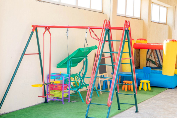 Детская площадка отеля Седьмое небо