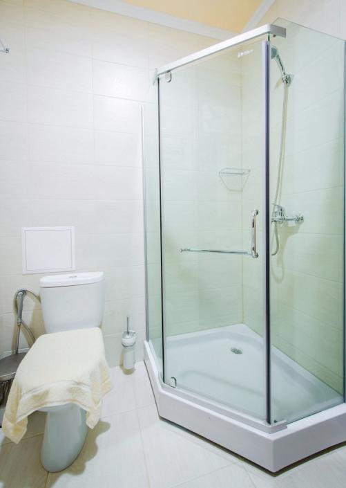 Туалетная комната номера Полулюкс в гостевом доме Шале-Прованс