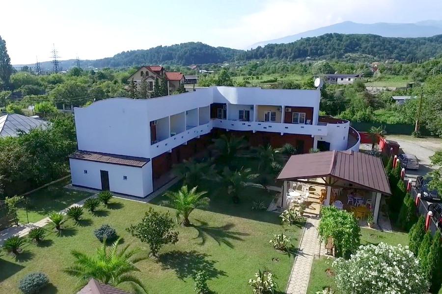 Отель Шармат, Абхазия, Пицунда, Лдзаа