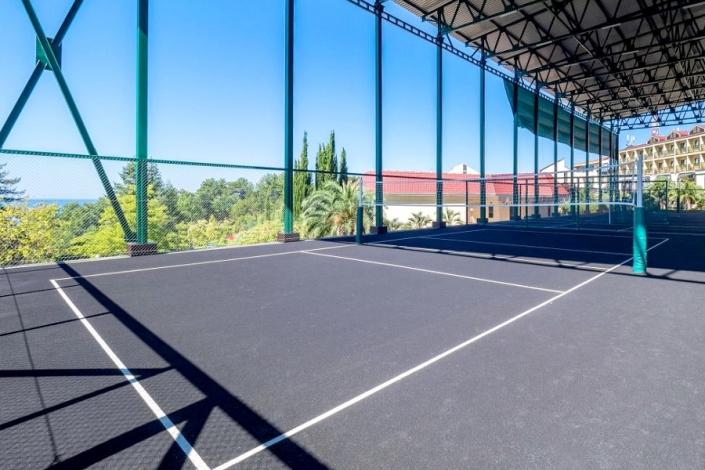Спортивные площадки пансионата Шексна
