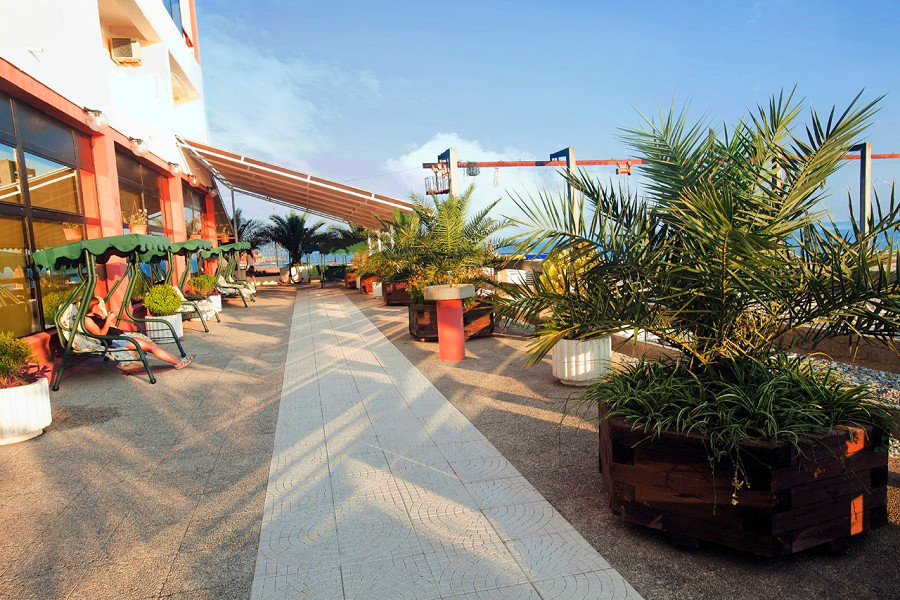Пляжный комплекс пансионата Шексна