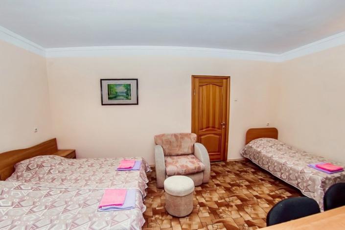 Коннект пятиместный двухкомнатный отеля Шихан