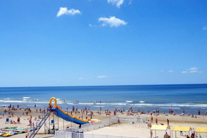 Пляж в Джемете, Анапа