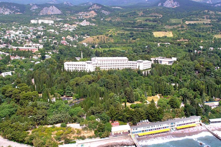 Санаторий Симеиз, Крым, Ялта