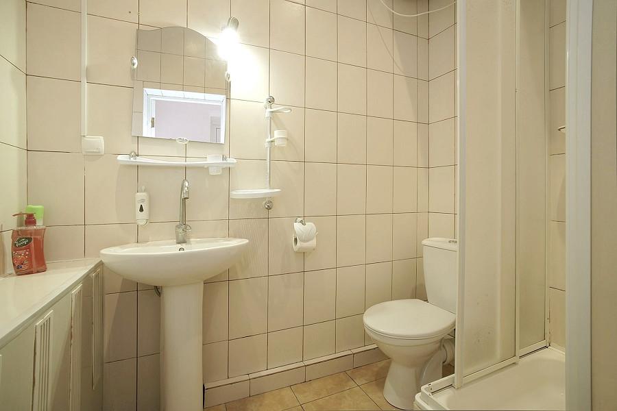 Туалетная комната номера Люкс в Корпусе № 1 санатория Симеиз