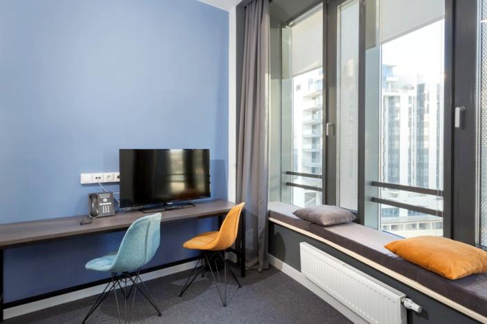 Стандарт трехместный с двухъярусной кроватью отеля Сириус Дельта, Сочи