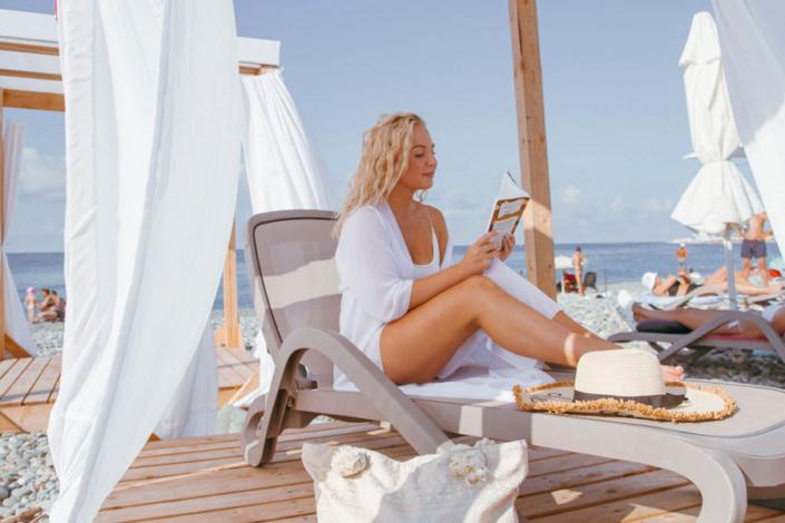 Пляж сети отелей Сириус, Сочи, Имеретинский курорт