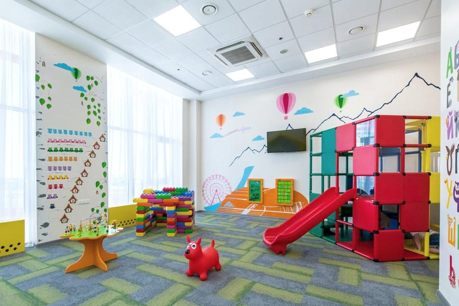Детская комната в отеле Сириус Омега, Сочи