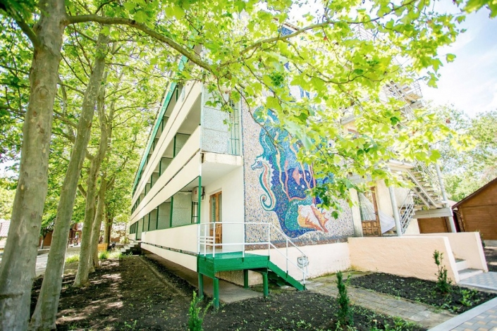 Спальный корпус отеля Славянка отеля Славянка, Анапа