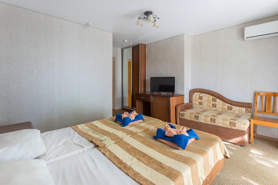 Эконом двухместный отеля Славянка
