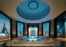 Лаунж-зона хамама спа-комплекса Soul Spa отеля Сочи Марриот Красная Поляна
