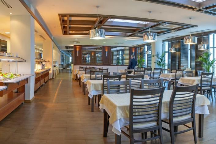 Ресторан в корпусе Приморский санатория Сочи