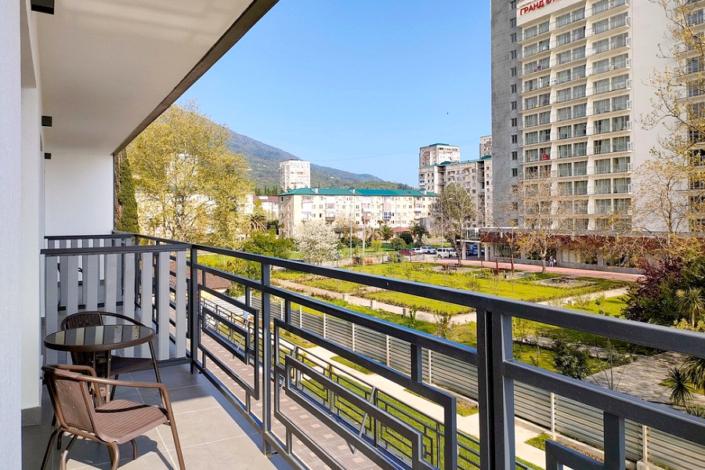Балкон Стандартного номера семейного отеля A. V. Sokol