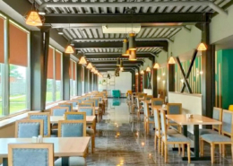 Ресторан семейного отеля A. V. Sokol