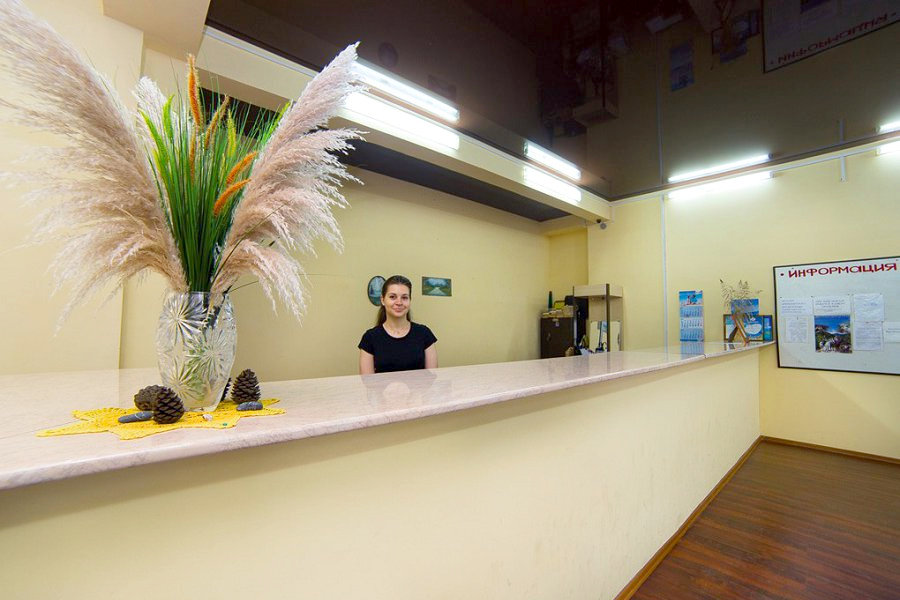 Служба приема и размещения гостей пансионата Солнечный