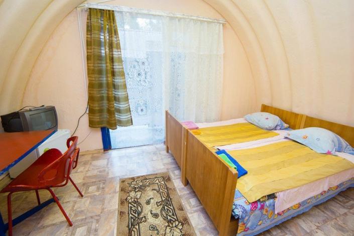 Двухместный домик пансионата Солнечный