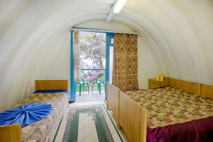 Трехместный домик пансионата Солнечный