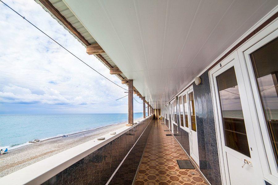 Коттедж на пляже пансионата Солнечный