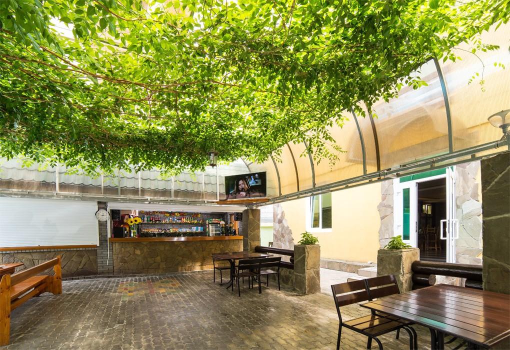 Кафе пансионата Солнышко Адлер, Сочи