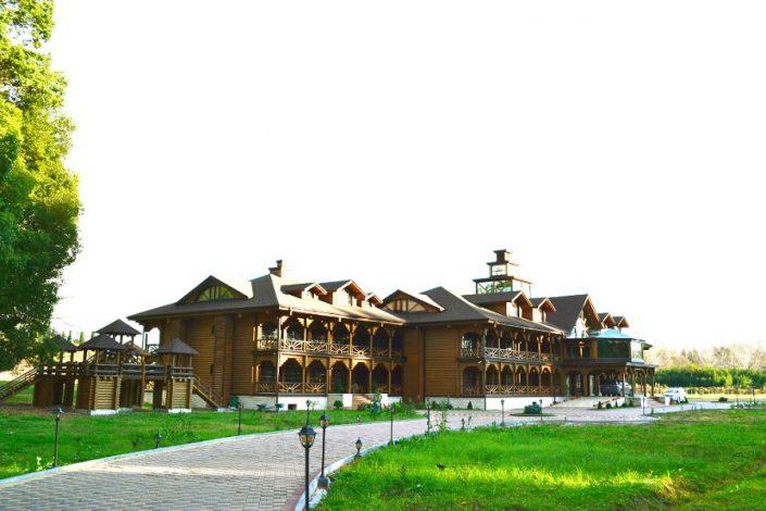 Новый корпус пансионата Сосновая роща