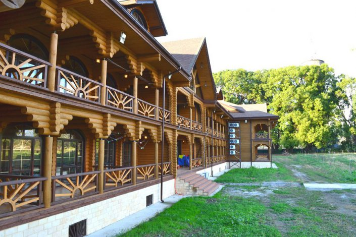 Новый корпус пансионата Сосновая роща, Пицунда, Абхазия