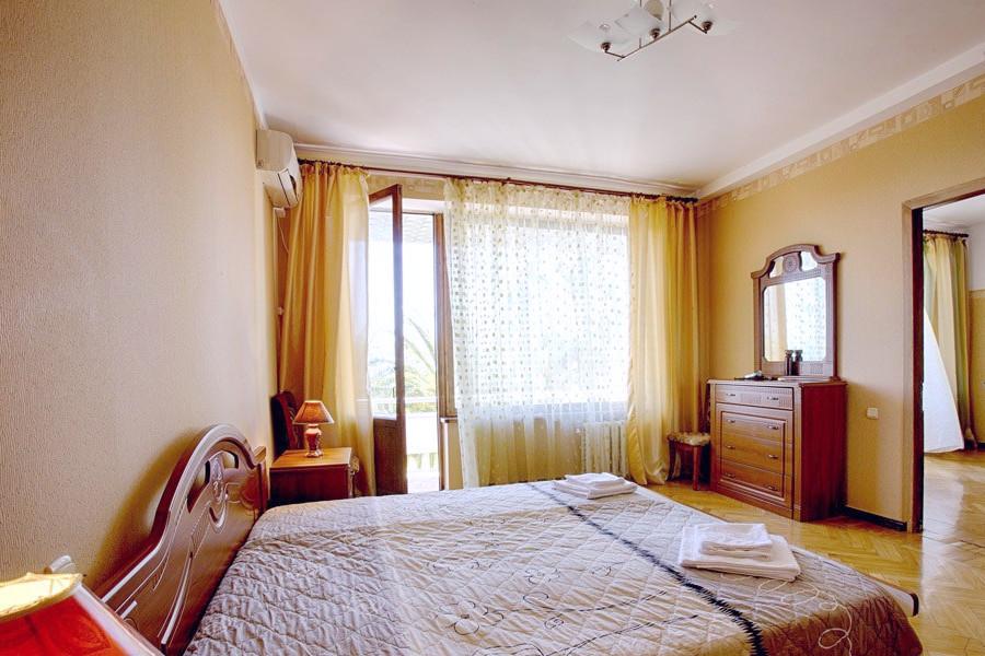 Номер ПК двухкомнатный в Корпусе №1 пансионата Сосновая роща, Пицунда, Абхазия