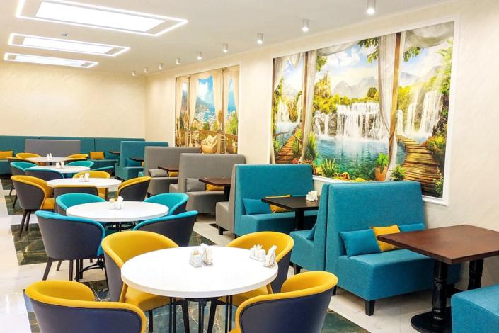 Ресторан Чаир санатория Сосновая роща