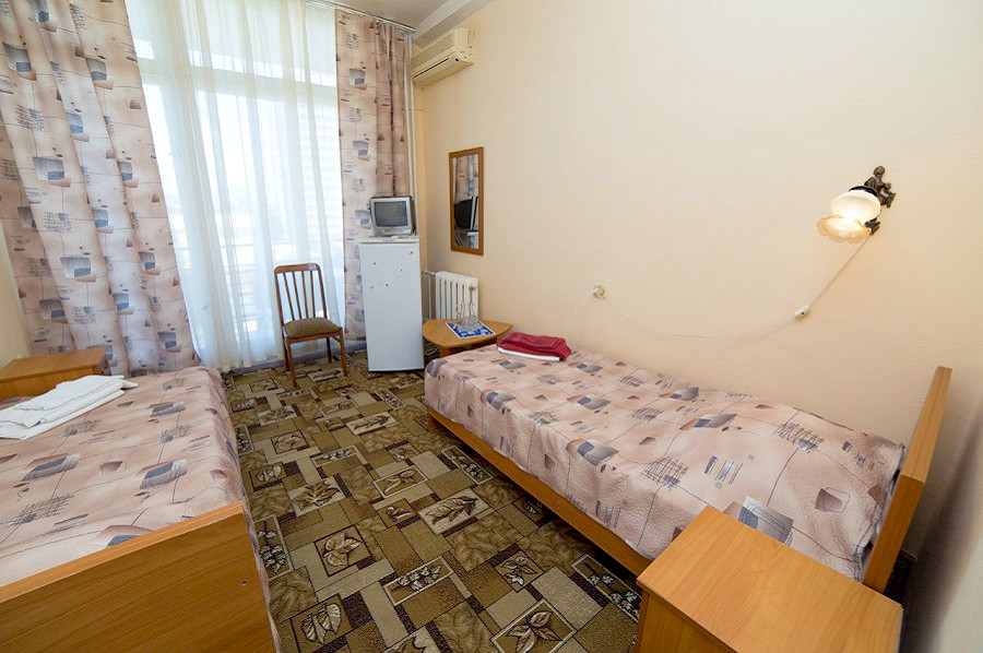 Стандартный двухместный номер санатория СССР, Сочи, Адлер