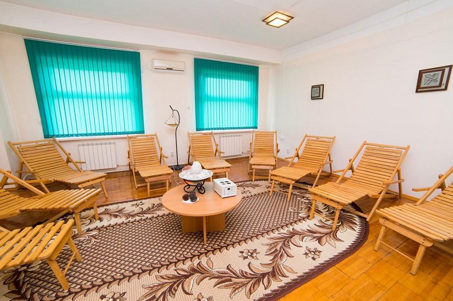 Лечебная база санатория СССР